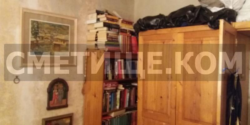 Изхвърляне на стари мебели в града