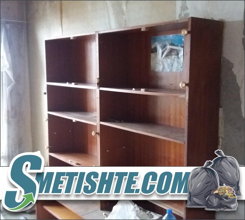 Изхвърляне на стари мебели в София и Софийска област