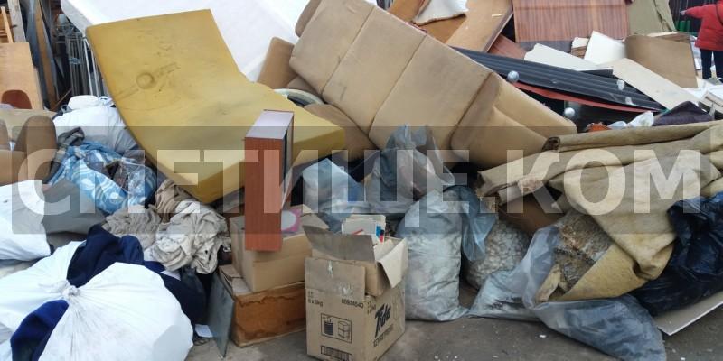 Извозване на отпадъци до сметище