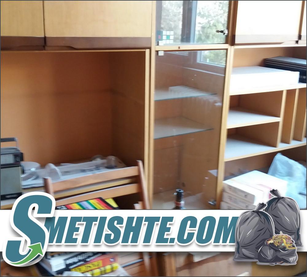 Опразване на апартамент с мебели и боклук