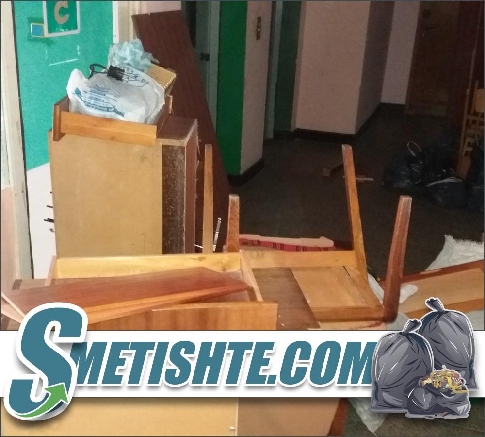 Почистване на апартамент с фирма за извозване в София