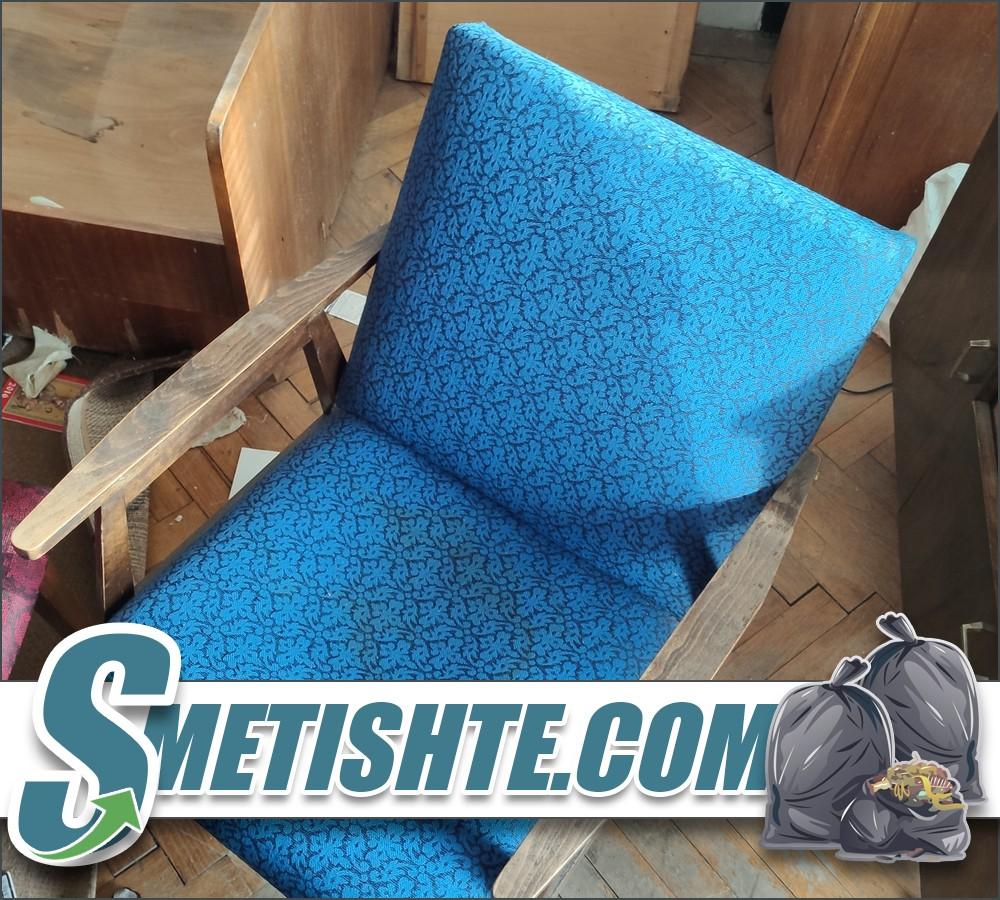 Извозване на диван с табуретки и фотьойли