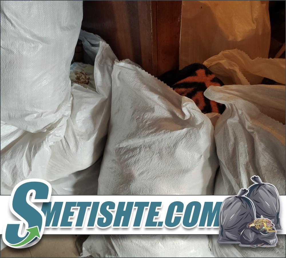 Изпразване на жилище апартамент с мебели и отпадъци