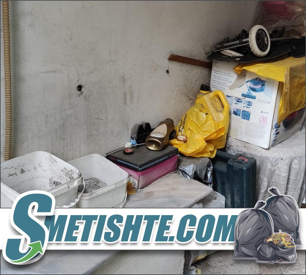 Почиства апартаменти и тавани и мазета