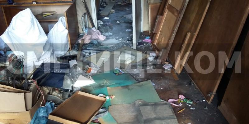 Почистване след смърт в клошарски дом