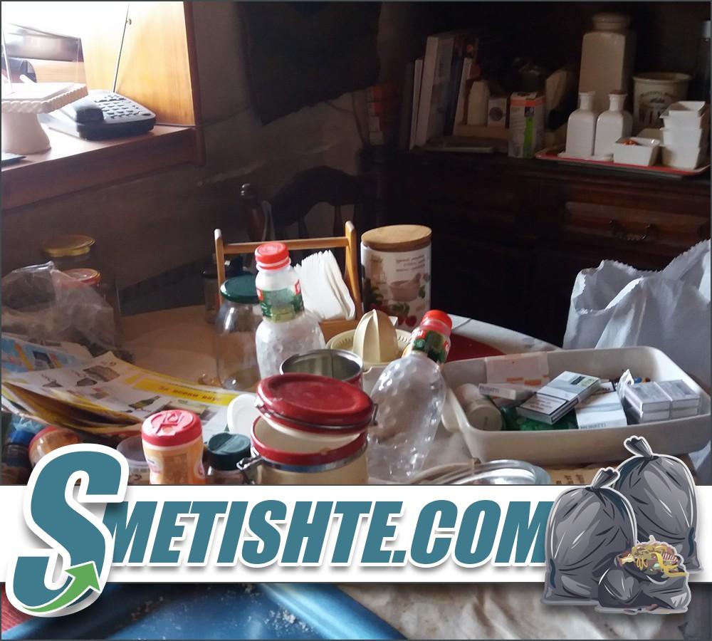 Събиране на битови отпадъци от жилища