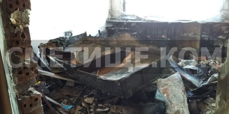 Извозване на отпадъци след пожар