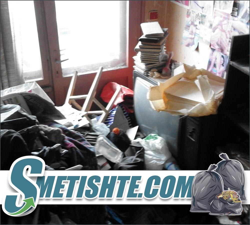 Извозване на боклук от жилище в София