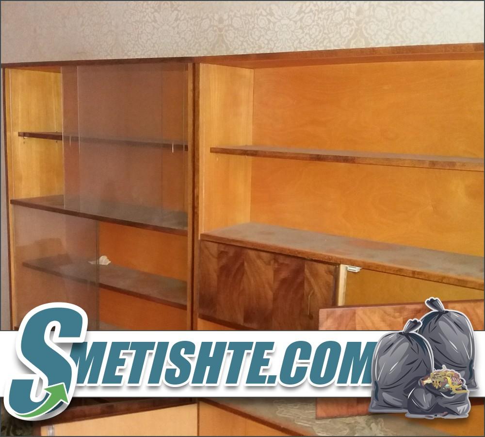 Изхвърляне на мебели от адрес и от много висок етаж
