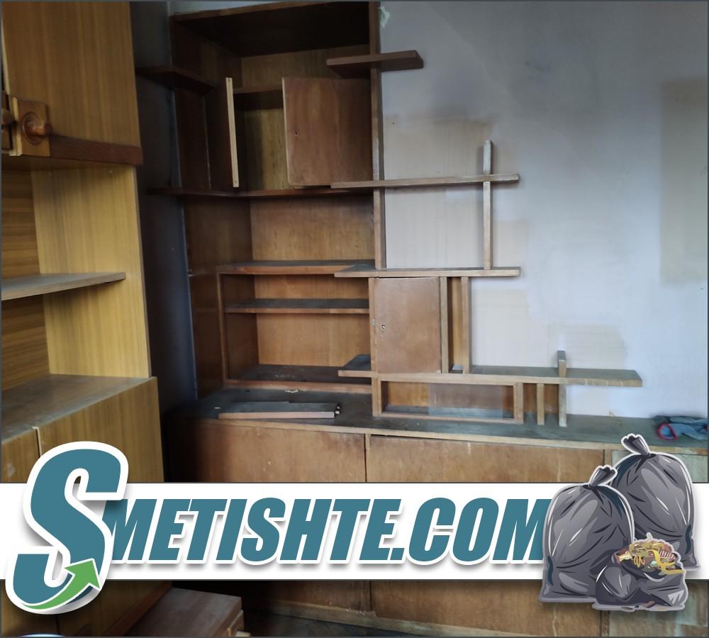 Демонтаж и изхвърляне на стари мебели в София и окръга