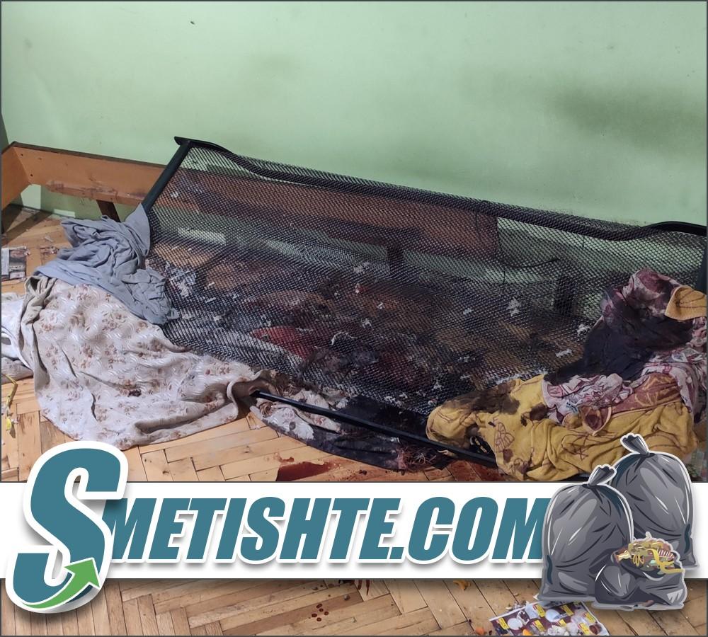 Разчистване след смърт и дезинфекция на апартамент
