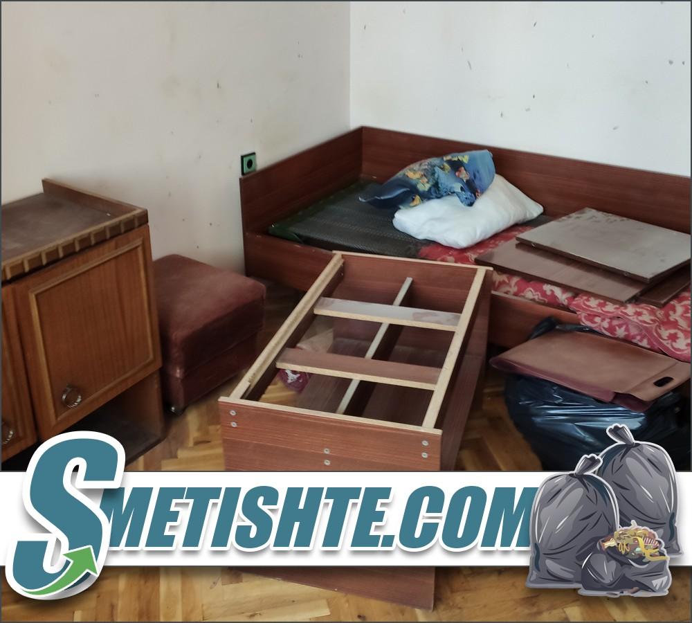 Разглобяване и изхвърляне на мебели
