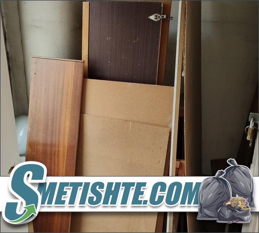Извозване на дървения от адрес и етаж в София